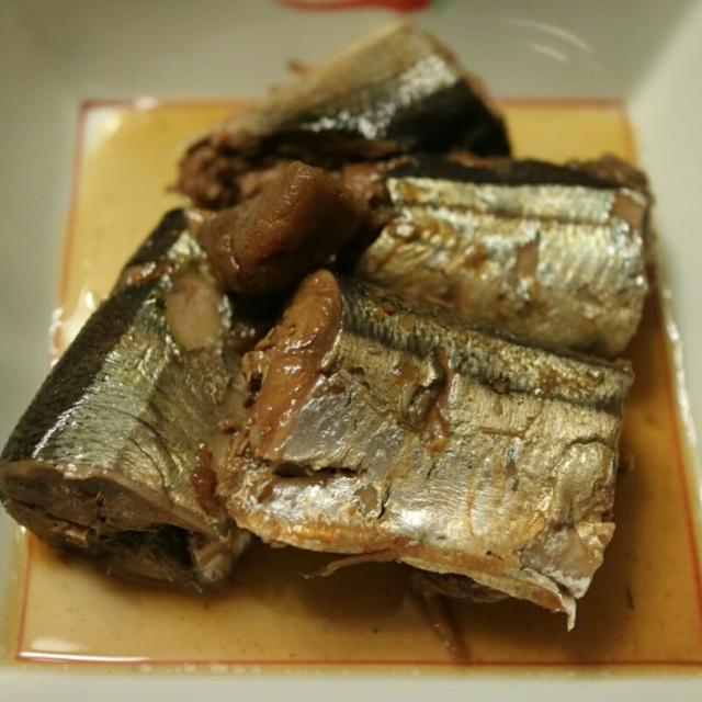 圧力鍋で簡単!さっぱり秋刀魚の梅煮♪