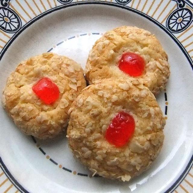 <イギリス・菓子レシピ> メルティング・モーメント【Melting Moments】