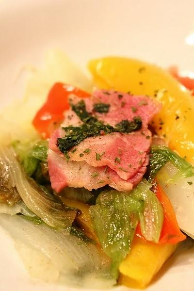 野菜のオリーブ煮