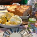 どデカっ!ハニートースト朝ごはん。 by いっちゃん♪さん