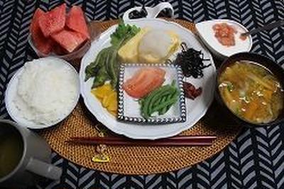 朝ご飯と手作りカヌレ