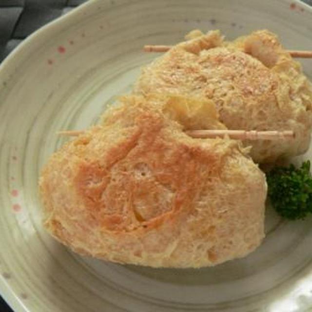 *ポテトとチーズの焼き巾着*など、晩御飯3日分。