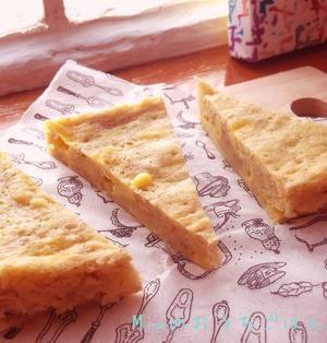 レンジでカンタン〜ふわふわしっとりバナナチーズ蒸しパン