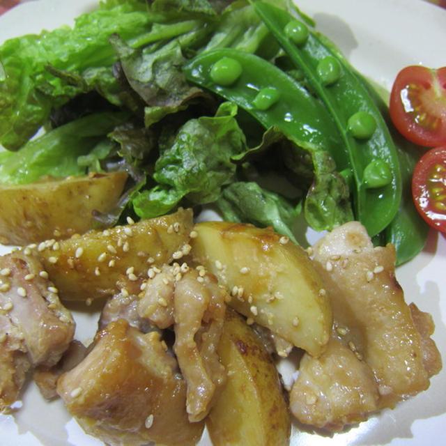 鶏もも肉と新じゃがの甘味噌からめ。晩ご飯に何を作るかいつ決めてるの?