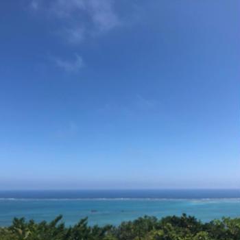 南部の海と、沖縄の天ぷらやさん!