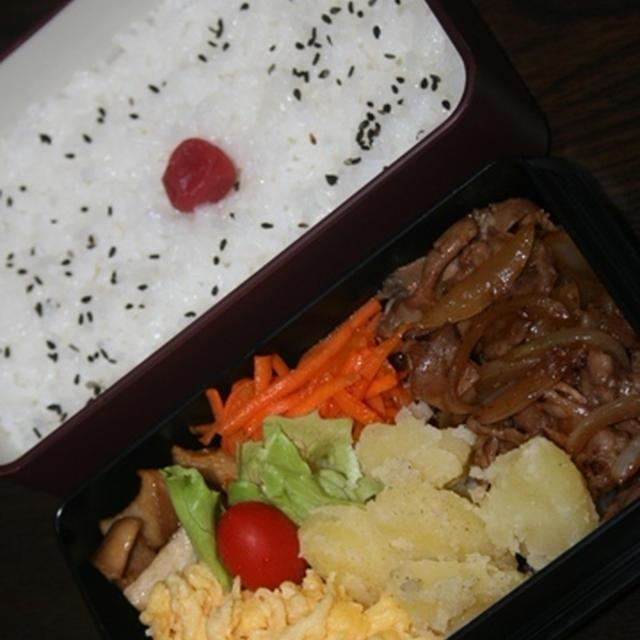 7月18日  焼き肉弁当(練習)