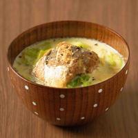 簡単!味付けいらず!サバと白菜の豆乳味噌スープ!【レシピブログさまコンテスト】