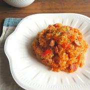 野菜ジュースで簡単☆旨味たっぷり炊き込みピラフ by kaana57さん