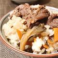 舞茸食べるぞ!…舞茸の天ぷら、舞茸と牛肉の混ぜご飯