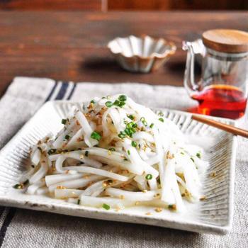 【レシピ】 やみつき 大根サラダ  #やみつきおかず#副菜#簡単レシピ
