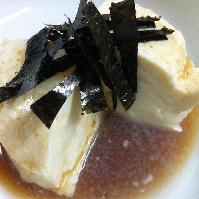 健康お豆腐レシピ70 イモ寄せ豆腐めんつゆかけ