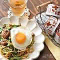 【レシピ・PR・主食】便利な缶詰でパパっとランチ!さばの味噌煮缶とにらの塩やきそば