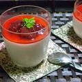 苺ソースのパンナコッタ by masaさん