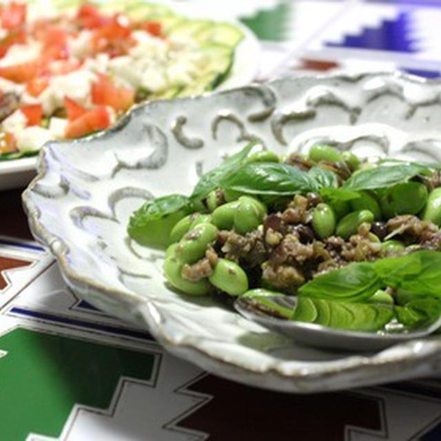 枝豆と印象派タプナード
