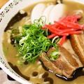 豚骨スープ味の沖縄そば