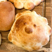 おひさまパンとチーズケーキ