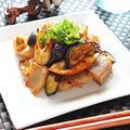 ちくわとなすのこんにゃく味噌炒め【カンタン節約ダイエットおかず】 レシピ・作り方