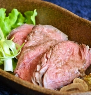 【Sous-vide風 炊飯器で作るローストビーフ】柔らかローストは本格的な味!