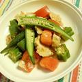 夏野菜とチキンのスパイシー和えのレシピ by Hilowさん