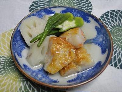 ☆新れんこんと天ぷら炊いたん☆
