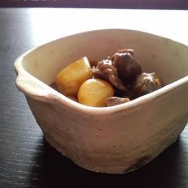砂肝のにんにく醤油煮