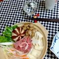 湯葉入り★豆乳味噌鍋