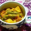 インド風☆オクラの野菜カレー