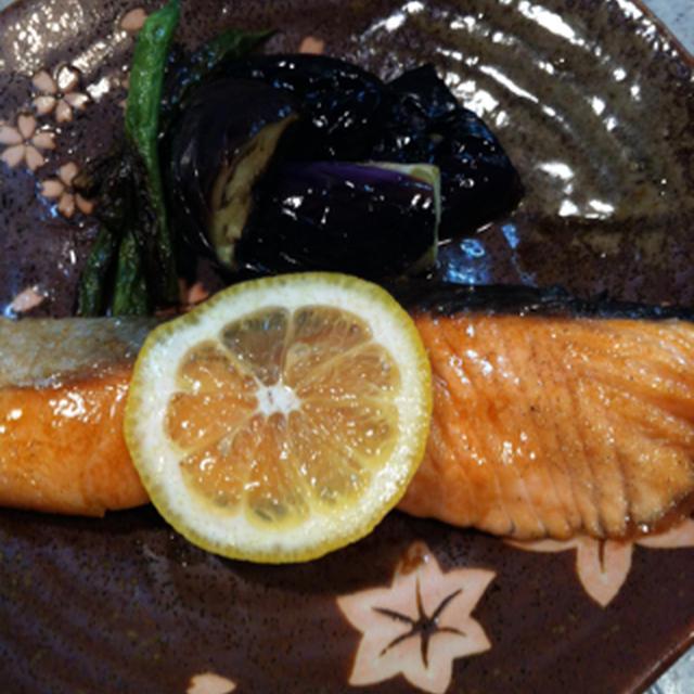 鮭バター醤油焼き