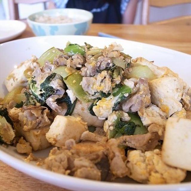 今度は、青梗菜チャンプルー 熱いパパ友に必ず出会える!8月11日(土)西東京市パパスクールでパパ料理教室開催