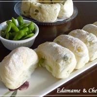 枝豆&チーズのちぎりパン☆