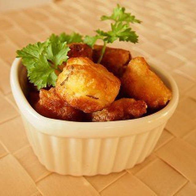 ■レシピ■パクっと気軽に★ローズマリーが香る ポテトパフ