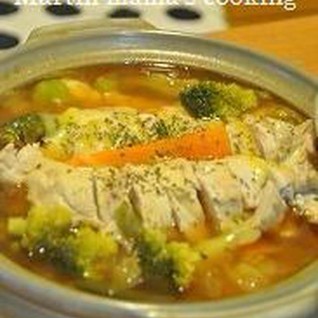 ロールチキン鍋