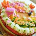 卒園式や卒業式にぴったりご飯ケーキレシピ☆お別れ会持ち寄りパーティーにも