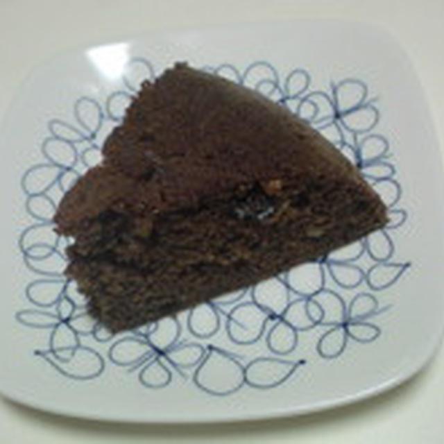 ドライフルーツチョコケーキ
