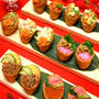 ひな祭り華やかデコ稲荷寿司☆