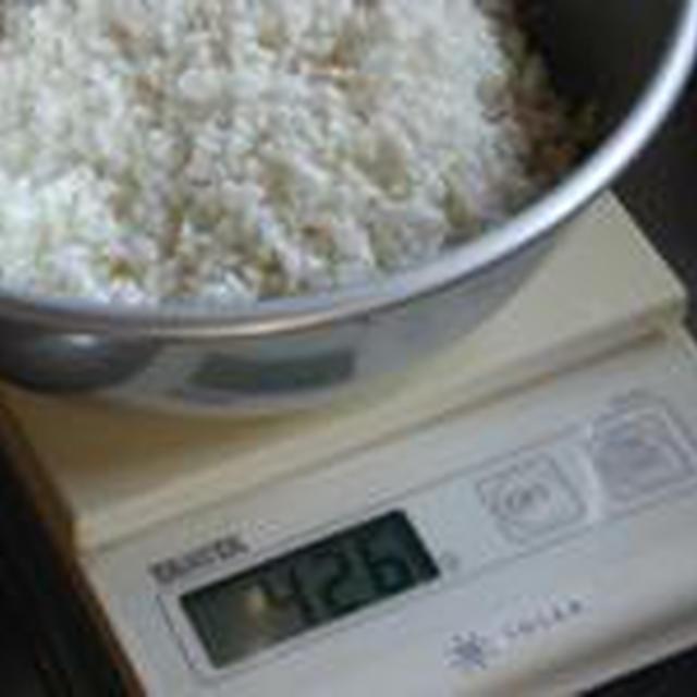 湯立てで白米(414)。。。沖縄・石垣島ひとめぼれ(最新米!2010)(こめいち)白米+千葉県ふさこがね(最新米2010)(こめいち)玄米。。。。炊き方の見直し67