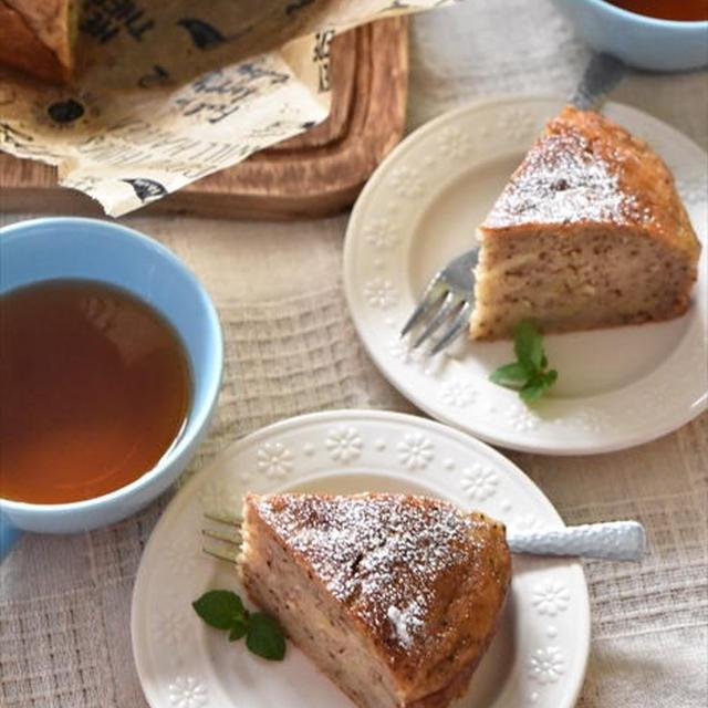 ホットケーキミックスで簡単!ずっしり紅茶バナナケーキ