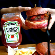今日まで!!限定&プレゼント付:ハインツ ・ケチャップバーガー を食べに蔵前へ ハインツジャパン様×フーディ―テーブル様特別企画v#ad
