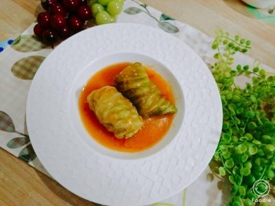 ロールキャベツのトマトシチュー
