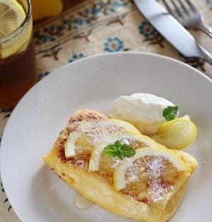 夏にぴったり♪「フレンチトースト×レモン」のアレンジレシピ