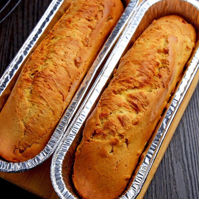 【クイックブレッド】レモンピール&バニラビーンズ入りオイルケーキ風/こくまろ鍋