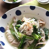 豚肉と野菜の白だしさっと煮