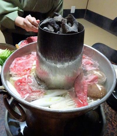 """一粒庵(いちりゅうあん)で""""肉の水だき""""【京都 祇園四条】"""