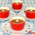 バレンタインに♪チョコレートプリン☆ 【GABANバニラ&シナモン風味】