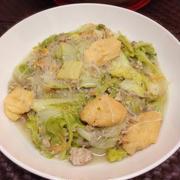生姜風味!旨みたっぷり♪白菜の中華炒め煮。
