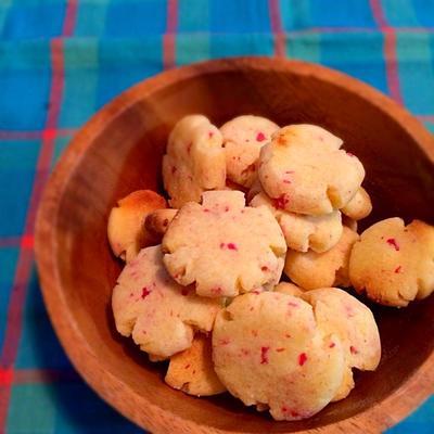 桜ミルクのクッキー