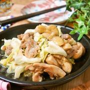 かさましで満腹満足♪漬けない鶏とキャベツの生姜焼き