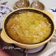 あったか鍋レシピ☆スペアリブの味噌鍋☆〆はうどんで♪