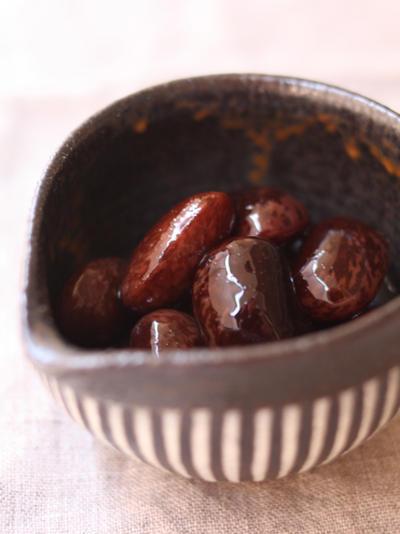 紫花豆の甘煮
