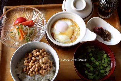 春雨サラダ・朝食